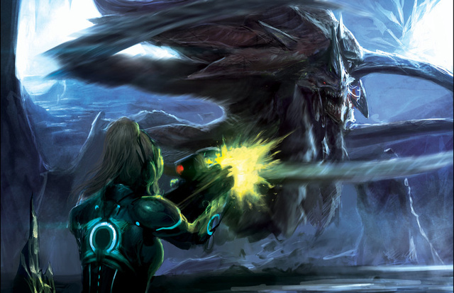 This Great Concept Art Makes Me Wish StarCraft: Ghost Would Come Back To Life