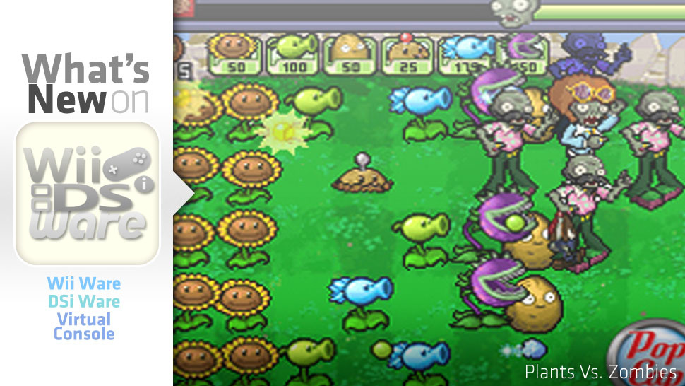 <em>Plants Vs. Zombies</em> Vs. DSiWare In This Week's Nintendo Download