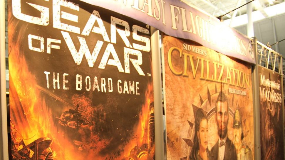 <em>Gears of War</em>  Board Game Still In The Works