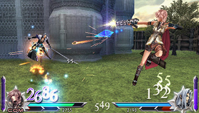 Lightning Strikes In Dissidia Duodecim's Downloadable Prologue