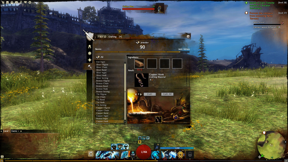 Even Legendary <em>Guild Wars 2</em> Heroes Have To Craft Stuff