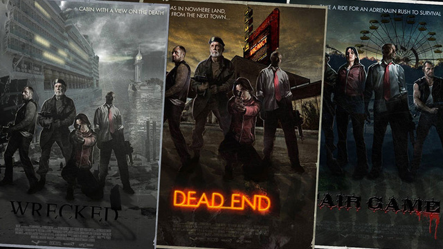 Seven Left 4 Dead Posters From An Alternate Universe