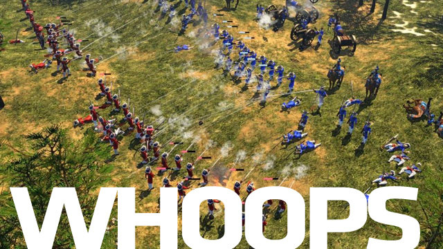 "Developer: Age of Empires 3 Was a ""Huge Mistake"""