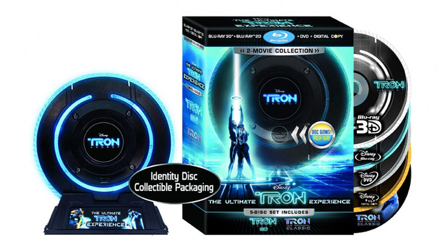 Tron: Legacy Comes To Blu-ray (With The Original Tron!)