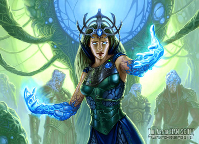 Magic the Gathering's Secret Sci-Fi History