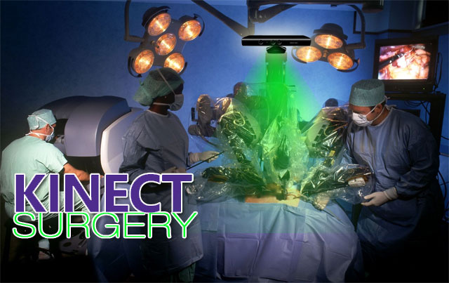 Kinect Hacked To Perform Surgery