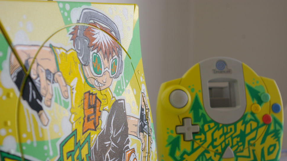 Graffiti Brings Sega's Fallen Hero Back To Life