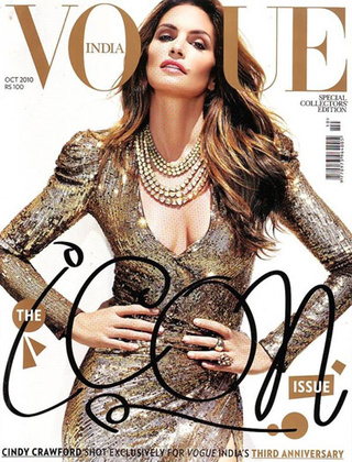 Cindy Crawford Nabs Iconic Cover, Looks Fantastic