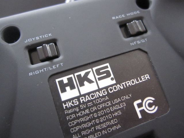 A Visual Guide To The HKS Racing Controller