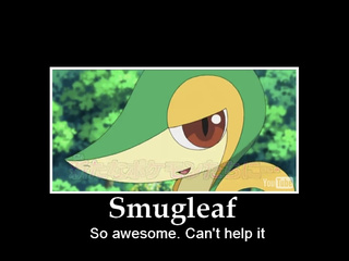 Smugleaf Is A Better Name Than Snivy