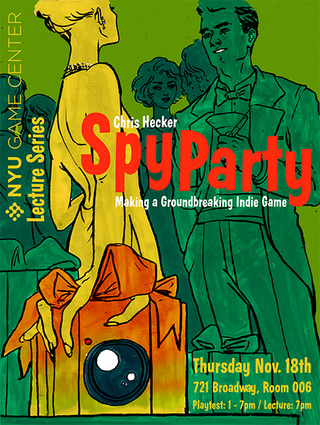 To-Do In New York: Play Spy Party On Thursday