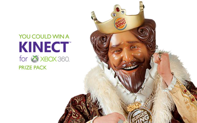 Burger King Is Giving Away A Kinect Bundle Every 15 Minutes