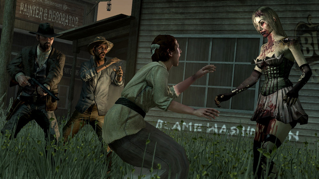 The Sights And Shocks Of Red Dead Redemption's Late October Undead Nightmare