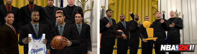 The President's Appearing In NBA 2K11, Too