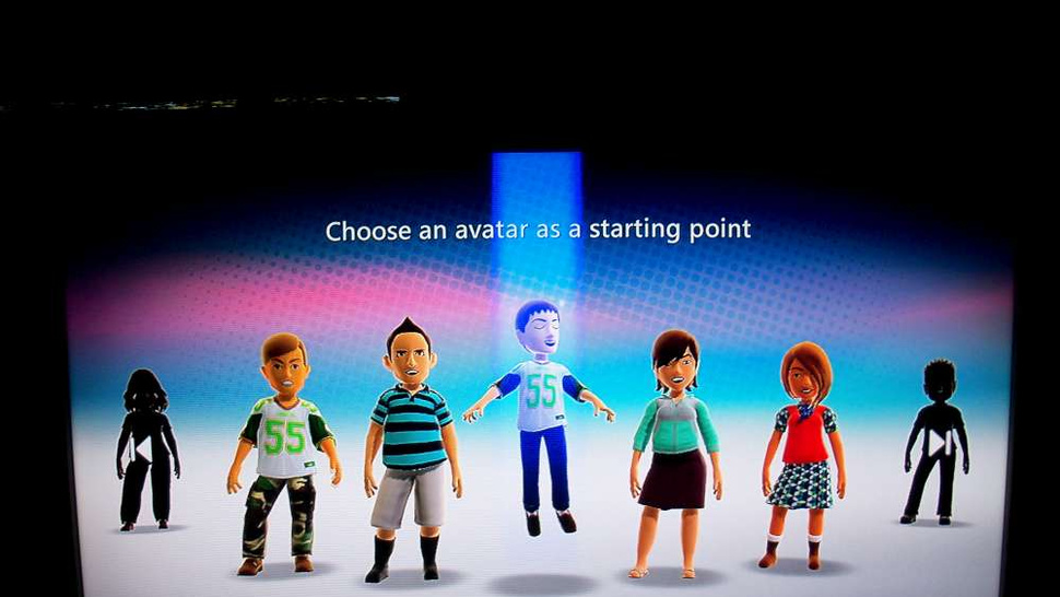 A Closer Look At The Kinect Beta's Avatars and Dashboards