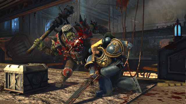 Eyes On With The Grim, Colorful Fantasy Of Warhammer 40K: Space Marine