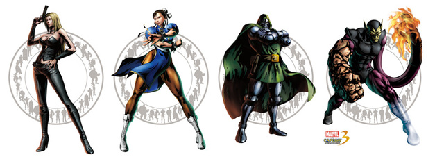 Four More Fighters Join Marvel Vs. Capcom 3 At Comic-Con