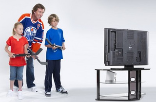 EA Sports Brings NHL Slapshot, Mini-Hockey Sticks, to Wii
