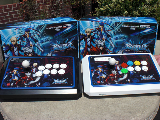 BlazBlue Gets Its Own Tournament Edition Joysticks