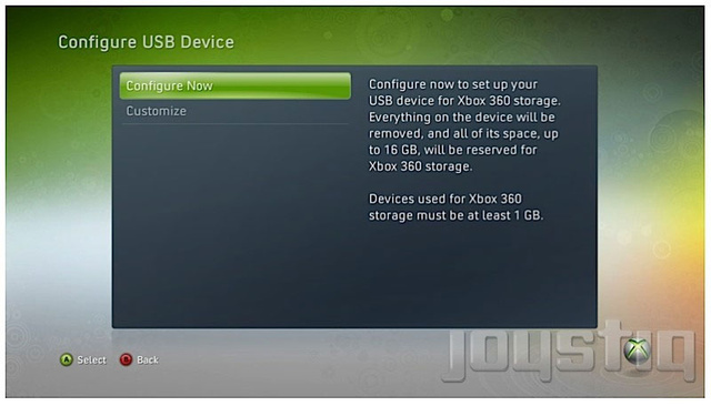 Is USB Storage In The Xbox 360's Future?
