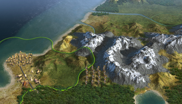 Civilization V To Eradicate Road Spaghetti?