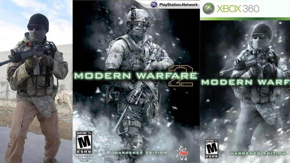 Real Soldiers Recreate Modern Warfare 2 Box Art