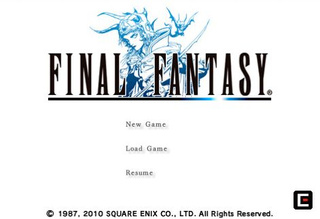 Final Fantasy I & II Available Now on iPhone