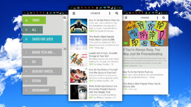 Click here to read Feedly's New Mobile Apps Make Finding, Reading, and Saving the Best Reads Easier