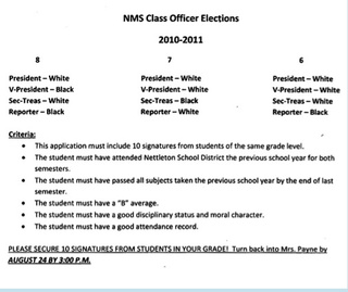 Middle School Only Allows Whites To Be Class President [Updated]