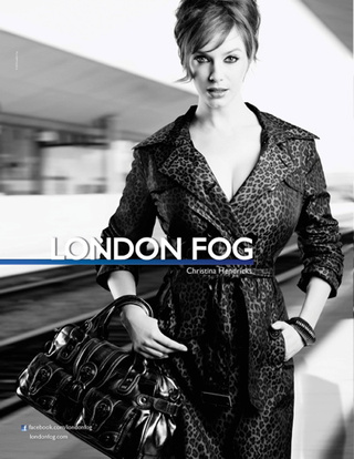 Christina Hendricks As The Face Of London Fog