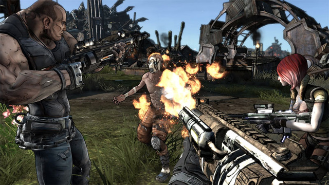 Borderlands Review: Guns! Guns! Guns!