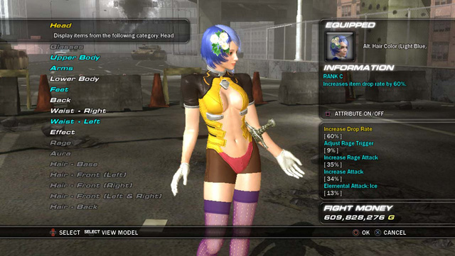 Tekken 6 Character Customization