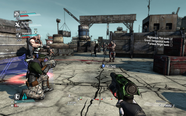 New Borderlands Screens