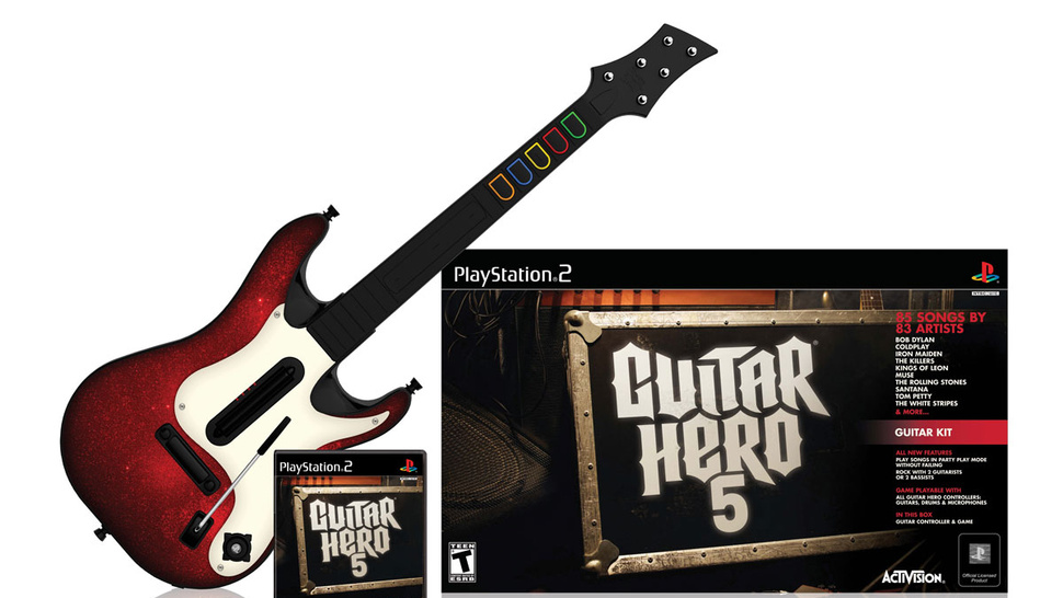 The Complete Guitar Hero 5 Trackist