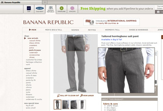 "Men's Pants Put The ""Banana"" In Banana Republic"