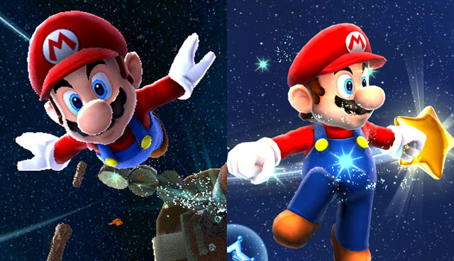 How Mario Galaxy Looks In 720p
