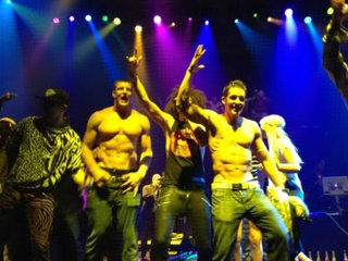 Rob Gronkowski, Shirtless Matt Light Danced Away Their Sorrows After The Super Bowl