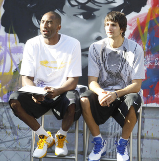 "Ricky Rubio Talks Some Olympic Trash To Kobe Bryant: ""You Know You're Getting The Silver Medal"""