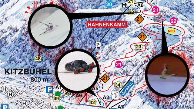 "A Tour Of The Terrifying Downhill Ski Course That Will Rip Open Your Pelvis ""Like A Book"""