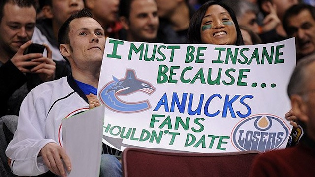 This Vancouver Canucks Fan Is Proud To Be Dating An Edmonton Fan