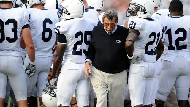 "Joe Paterno Is Reportedly ""Near Death"" [UPDATE]"