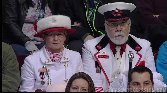 The King And Queen Of Canada Sat Among The Commoners At The Canucks Game