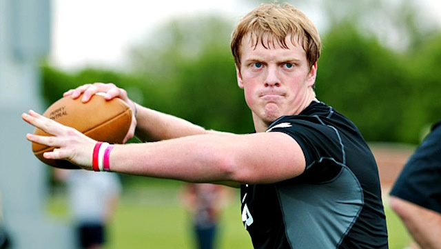 Gunner Kiel's Mom Recommits Him To Notre Dame