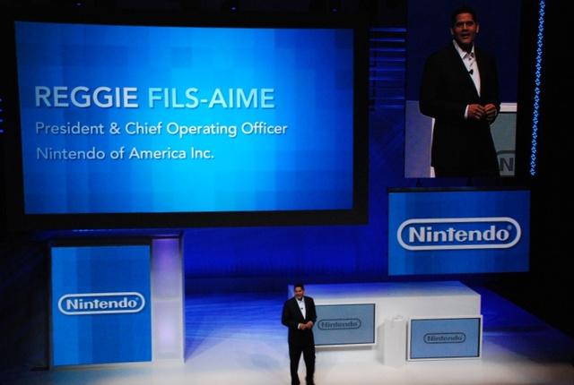 Nintendo's Reggie Finds Natal 'Ironic,' Talks Facebook, Virtual Console