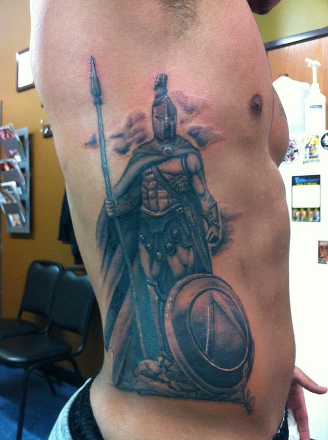 That Is One Huge-Ass Spartan Tattoo, MSU Redshirt Freshman Special Teamer
