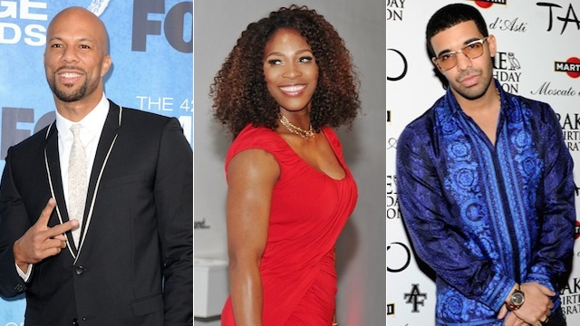 Serena Williams Now Cause For Lamest Rap Beef Ever: Drake Vs. Common
