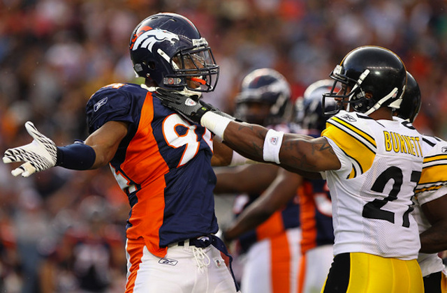 NFL Wildcard Weekend: Pittsburgh Steelers at Denver Broncos