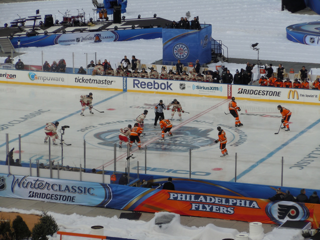 At The Winter Classic, A New Year Belongs To Gary Bettman