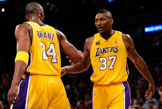 "Metta World Peace Doesn't Mind When Kobe Calls Him ""Ron"""