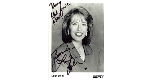 Linda Cohn See Through http://deadspin.com/5871365/15-years-ago-i-wrote-a-fan-letter-to-espn-heres-who-wrote-back/